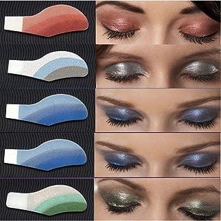 Eye Tattoo Stickers Doinshop Instant Eye Shadow Temporary Makeup 6 Pair (Random Color)