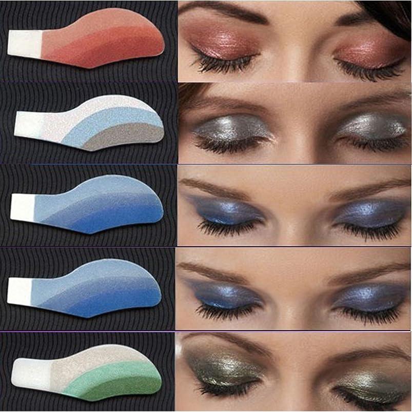 HCFKJ 6 Pair Instant Eye Shadow Temporary Makeup Eye Tattoo Stickers ispjrhjg312288