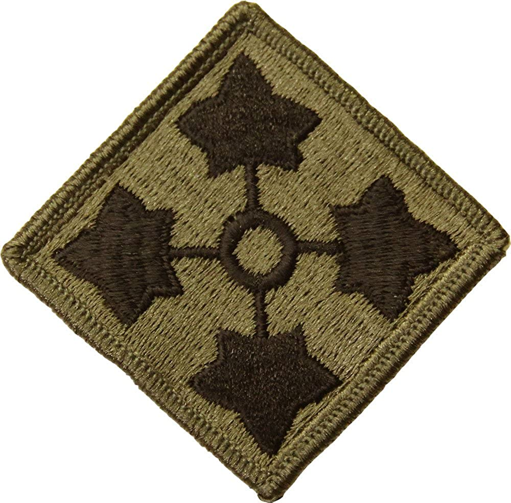 4th Max 50% OFF Infantry Division Subdued Patch Price reduction