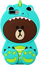 Artbling Case for iPhone 5C 5S,Silicone 3D Cartoon Animal Cover, Kids Girls Cool Lovely..