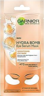 Garnier Hydra Bomb Eye Serum Mask, Orange, 6 g