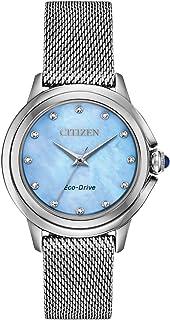 Citizen - Eco-Drive Ceci Diamond EM0790-55N - Reloj de pulsera para mujer (acero inoxidable)
