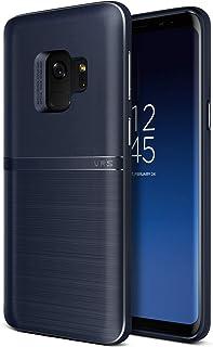 VRS DESIGN [Single Fit Slim Shockproof Bumper Case TPU Cover for Samsung Galaxy S9 - [Indigio]