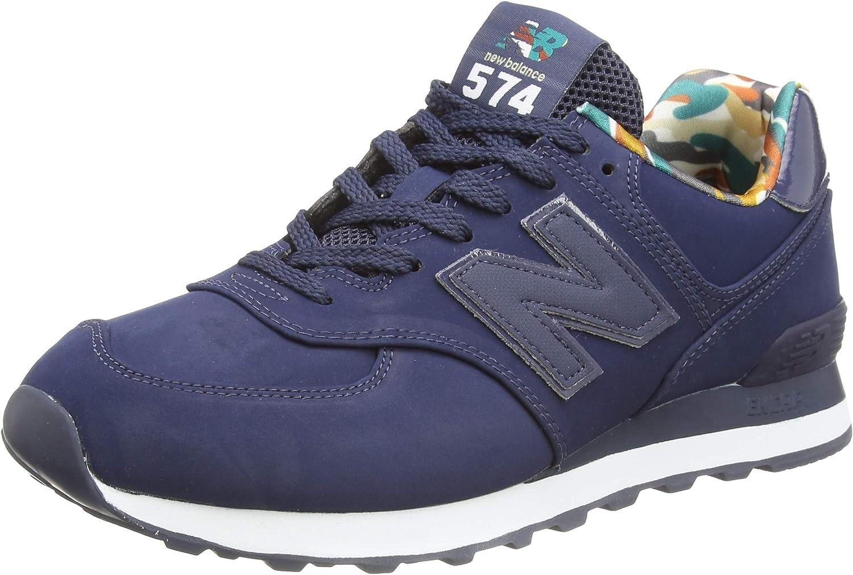 Amazon.com | New Balance Men's 574 Ml574gyz Medium Sneaker ...