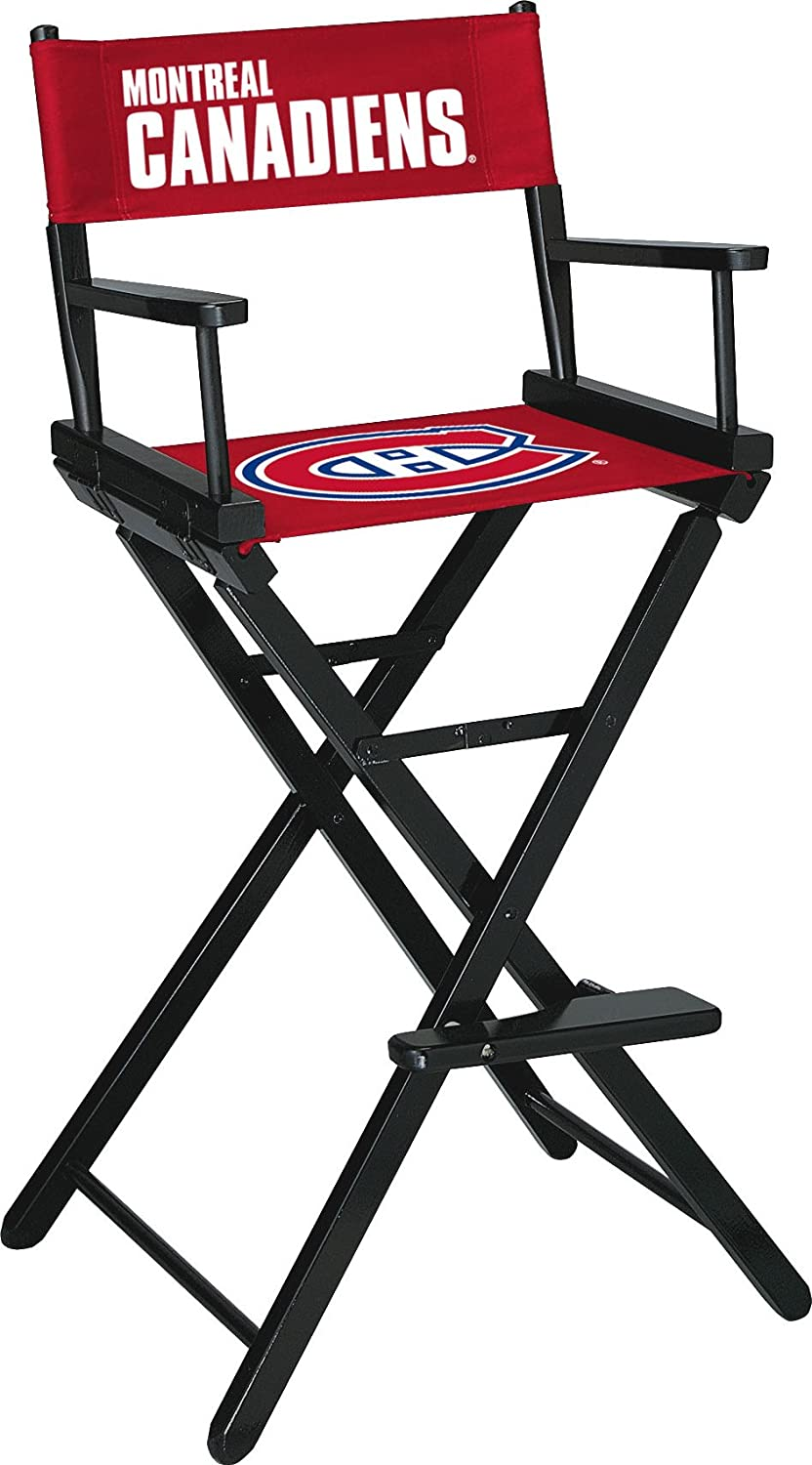 Imperial Officially Licensed NHL Merchandise  Directors Chair (Tall, Bar Height), Montreal Canadiens