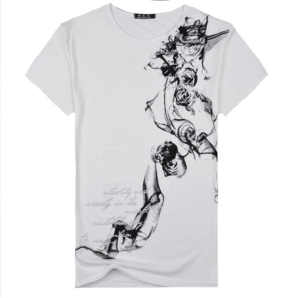 震える切断するもう一度SmaidsxSmile(スマイズ スマイル) Tシャツ トップス カットソー インナー 半袖 刺青 柄 デザイン 丸首 英字 メンズ