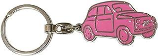 Fiat 500 Schlüsselmäppchen, Rosa (Pink)   FIKR17