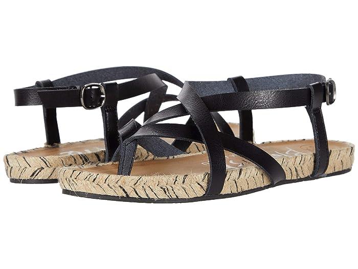 Blowfish  Granola Rope (Black Die Cut) Womens Sandals