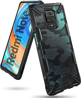 Ringke Fusion-X Diseñado para Funda Xiaomi Redmi Note 9S (2020), Carcasa Redmi Note 9 Pro, Prevención de Golpes Parachoque TPU Funda Redmi Note 9S / Redmi Note 9 Pro (6.67 Pulgadas) - Camo Black