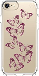 Speck Presidio Print Case for iPhone 7/8 - Brilliant Butterflies/Clear, 79991-5947