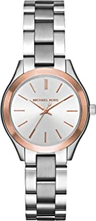 Michael Kors Mini Slim Runway Stainless Steel Watch