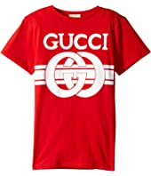 Gucci Kids - Graphic Logo T-Shirt 547559XJAHV (Little Kids/Big Kids)