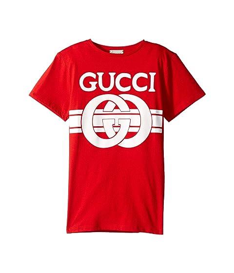 Gucci Kids Graphic Logo T-Shirt 547559XJAHV (Little Kids/Big Kids)