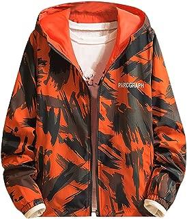 Men's Trend Autumn Winter Casual Loose Camouflage Hoodies Sweatshirt Outwear Long Sleeve Tops Jacket Coat(M-4XL)