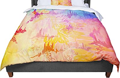 KESS InHouse Suzanne Carter Lady Grace Dark Queen Comforter 88 X 88