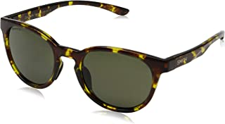 Smith Snare 201045P6551Z0 Unisex Vintage Tort Frame Blue Mirror Lens Round Sunglasses