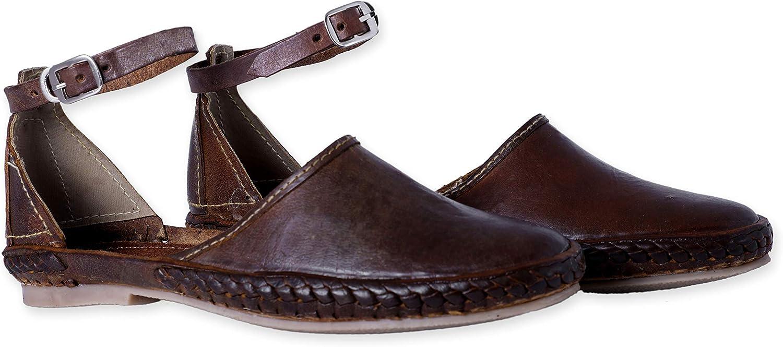 Desi Hangover Men's Pure Leather Handmade shoes Elle Tan