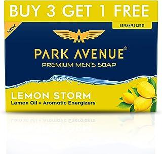 Park Avenue Lemon Storm Soap, 125g (Buy 3 Get 1Free)
