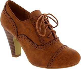 Womens Evening Mid Heel Ankle Boots Party Mary Jane Shoes Block Heels