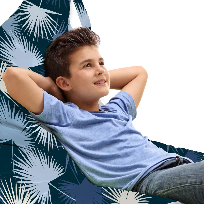 Washington Mall Lunarable Financial sales sale Exotic Lounger Chair Bag Tropical Jungle Abstract Pal