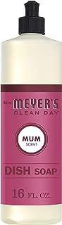 Mrs. Meyer's Merge Dish Soap, Mum, 16 Fluid Ounce (Pack - 1) (Pack - 1)