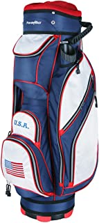 PowerBilt TPS 5400 USA Flag Cart Golf Bag