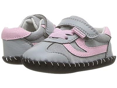 pediped Cliff Originals (Infant) (Grey/Pink) Girl