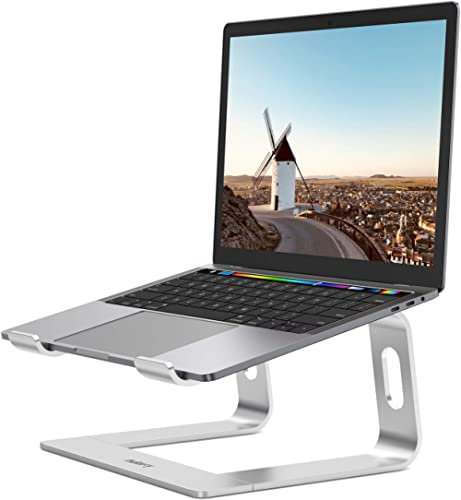 Nulaxy Laptop Stand, Ergonomic Aluminum Laptop Computer Stand, Detachable Laptop Riser Notebook Holder Stand Compatib...