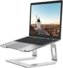 Nulaxy Laptop Stand, Ergonomic Aluminum Laptop Computer Stand, Detachable Laptop Riser Notebook Holder Stand Compatible wi...