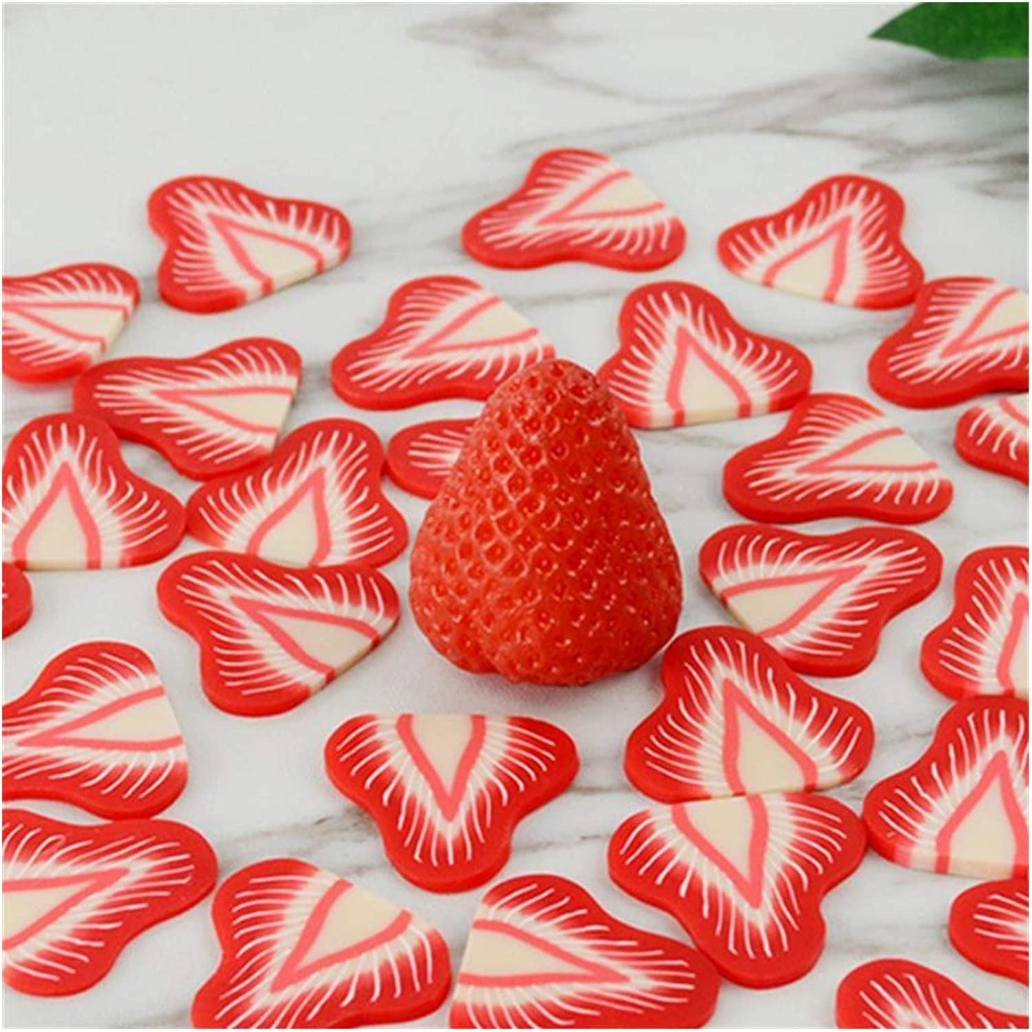 JSJJEDC Artificial Fruit 20PCS Don't miss the campaign Simulated Strawb Time sale