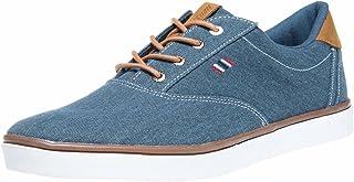 Boras Fashion Sports Sneaker Canvas Denim Blue