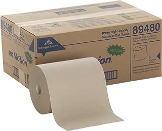 Georgia Pacific Professional 89480 High Capacity Roll Towel, Brown, 10