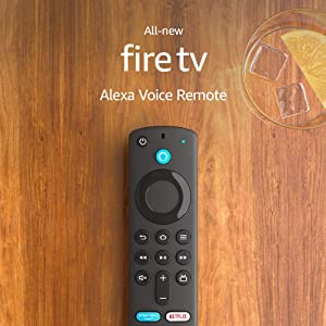 Alexa Voice Remote (3rd Gen) with TV controls | Requires compatible Fire TV device | 2021 release