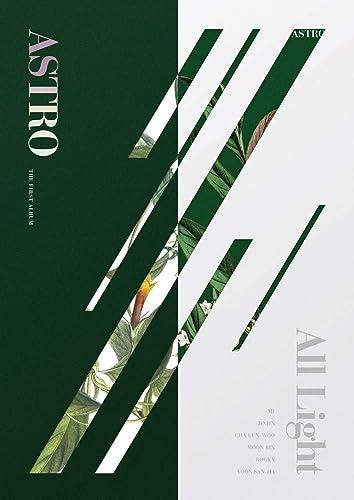 Fantagio Music Astro - All Light [Grün+Weiß ver. Set] (Vol.1) 2CD+Photocards+Postcards+2Folded Posters+Double Side Extra Photocards Set
