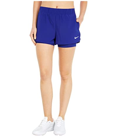 Nike Flex Shorts (Regency Purple/White) Women