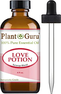 Love Potion Essential Oil Blend 4 oz 100% Pure, Undiluted, Therapeutic Grade.