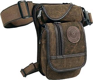 Canvas Thigh Bag Waist Pack Drop Leg Pouch Outdoor