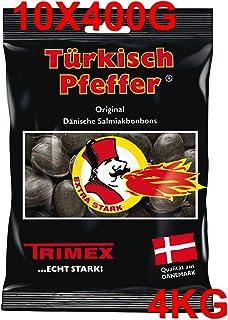 10 x TRIMEX TÜRKISCH PFEFFER 400g LAKRITZ