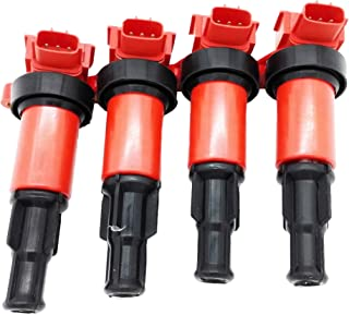 OKAY MOTOR Complete of 4 Ignition Coil Pack for Silvia S13/S14 SR20DET 180SX 200SX 240SX 22448-50F01