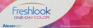 FreshLook One Day Contact Lenses, Color Mystic Grey pack/10-04.50