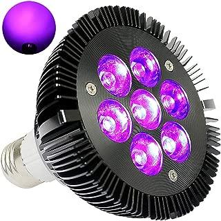 Black Light Bulb, KINGBO 14W LED UV Black Light E26 PAR30 Glow in The Dark, 395nm LEDs..