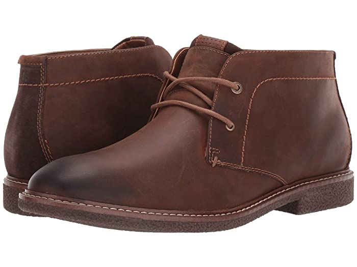 Lucky Brand  Boone (Walnut Burnished Crazy Horse) Mens Boots