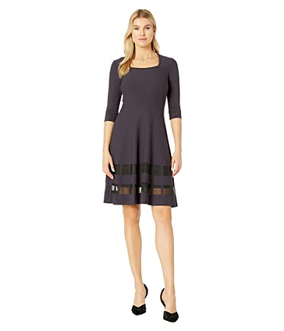 NIC+ZOE Charming Twirl Dress (Nightshade) Women