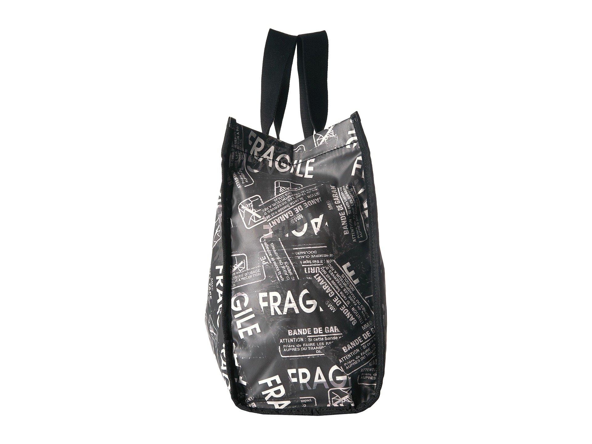 Black Mm6 Shopper Margiela white Maison Fragile Tote xBwPC8BXq