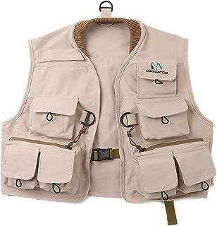 Maxcatch Kids Fly Fishing Vest Youth Vest Pack, 100% cotton
