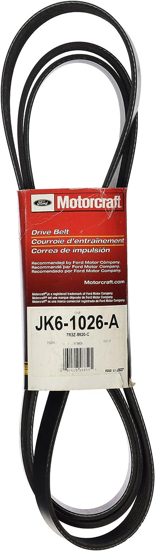 Motorcraft JK61026A Max 54% OFF Belt Latest item V-Ribbed