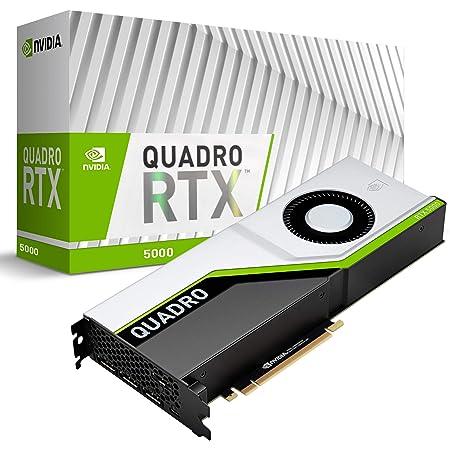 PNY VCQRTX5000-PB graphics card Quadro RTX 5000 16 GB GDDR6