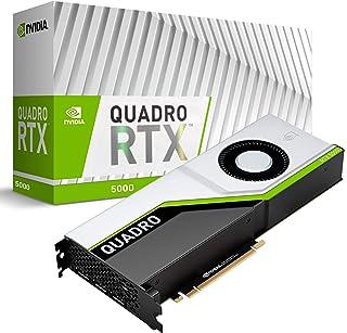 PNY VCQRTX5000-PB - Tarjeta gráfica (Quadro RTX 5000, 16 GB, GDDR6, 256 bit, 7680 x 4320 Pixeles, PCI Express x16 3.0)