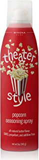 Winona Pure Popcorn Butter, Theater Style 5 Ounce (3-Pack) | Delicious Popcorn Spray with 0 Calories per Serving, Perfect for Popcorn Lovers