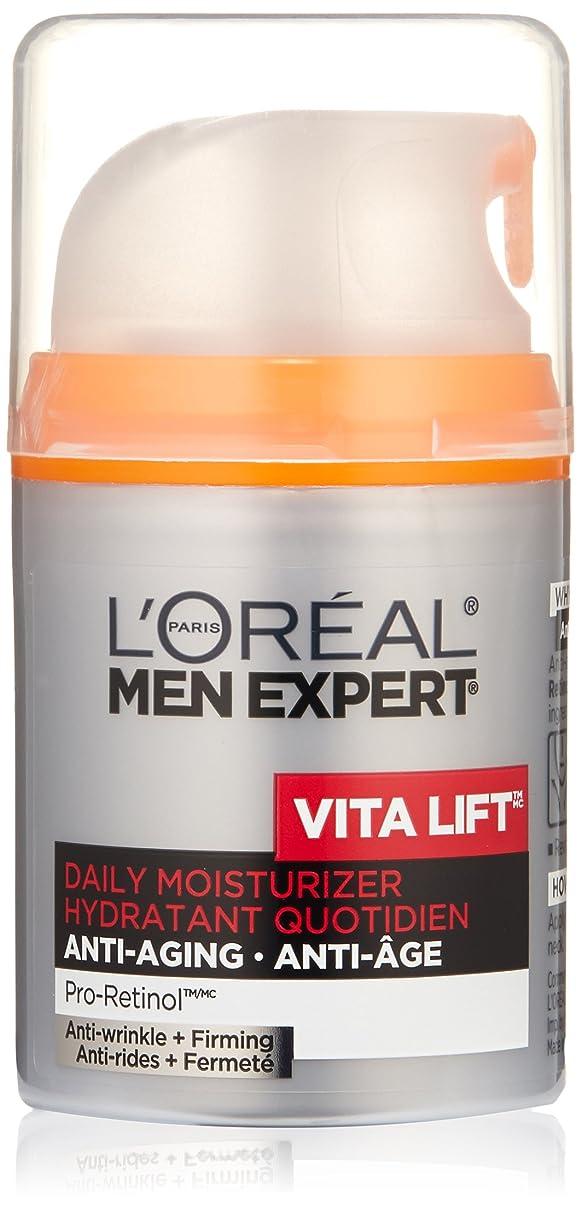 ガソリン副入場料Men's Expert L'Oreal Paris Vita Lift Anti-Wrinkle & Firming Moisturizer, 1.6 Ounces